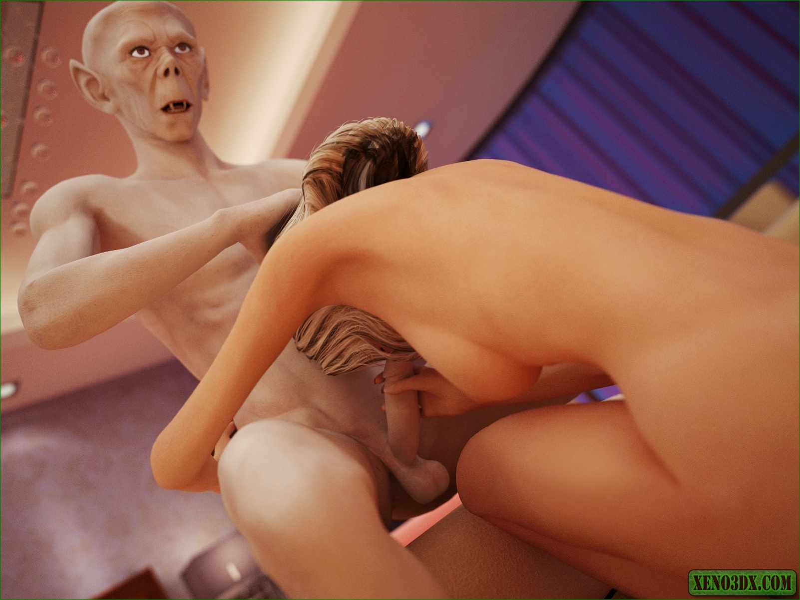 Nude girl fucking pic monster porncraft photo